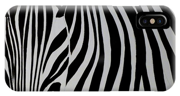 Badzebra IPhone Case