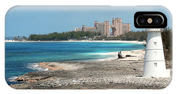 Bahamas Lighthouse IPhone Case