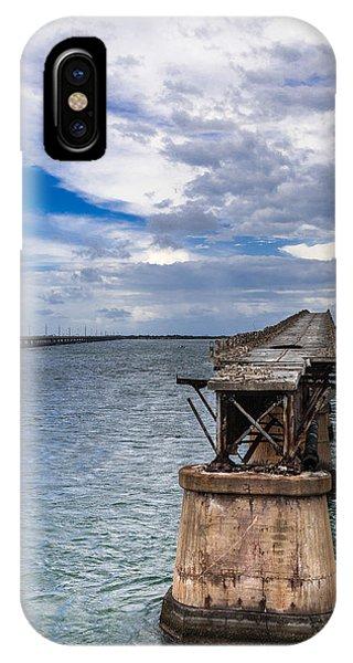 Bahia Honda Bridge By Day Phone Case by Dan Vidal