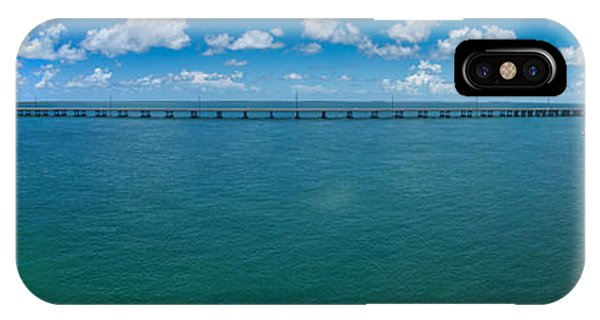 Bahia Honda Bridge Panorama IPhone Case