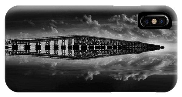 Bahia Honda Bridge Reflection IPhone Case