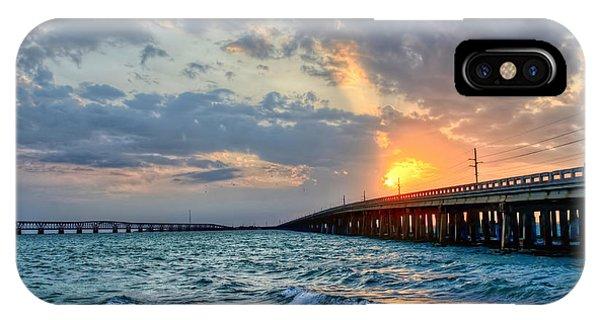 Bahia Honda Sunset IPhone Case