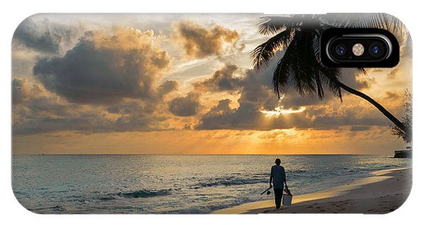 IPhone Case featuring the photograph Bajan Fisherman by Garvin Hunter