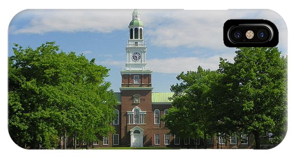 Baker Memorial Library IPhone Case