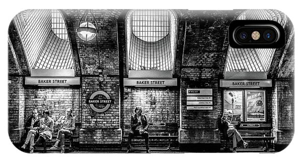 Passenger Train iPhone Case - Baker Street by Marc Pelissier
