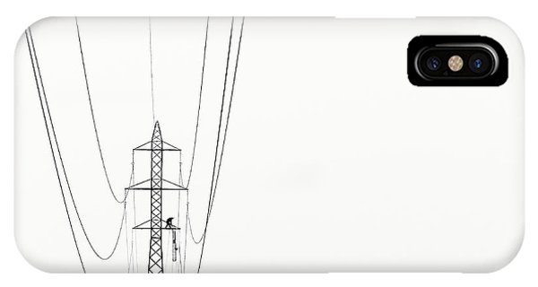 Industrial iPhone Case - Balance by Kristjan Rems