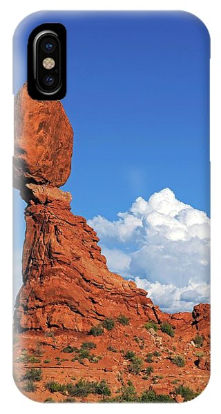 Physical iPhone Case - Balance Rock by Bildagentur-online/mcphoto-schulz