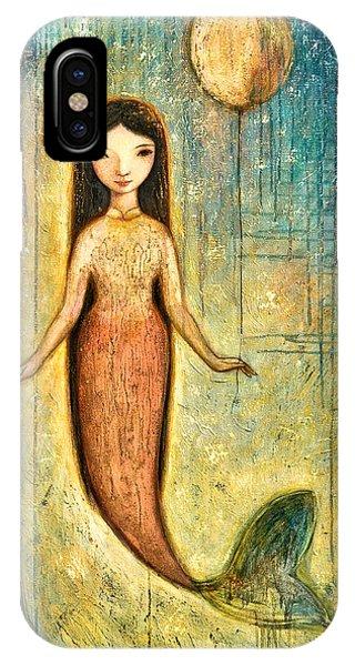 Mythological Creature iPhone Case - Balance by Shijun Munns