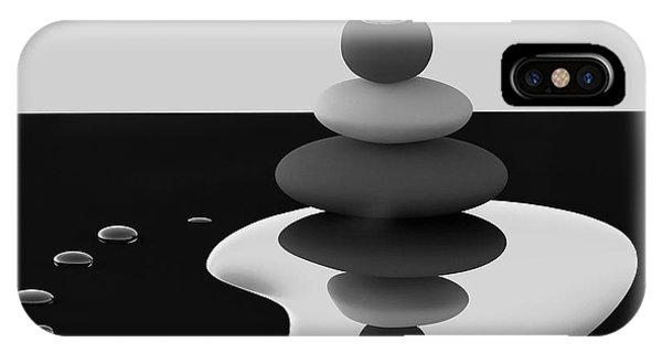 Water Droplets iPhone Case - Balanced Drops by Antonyus Bunjamin (abe)