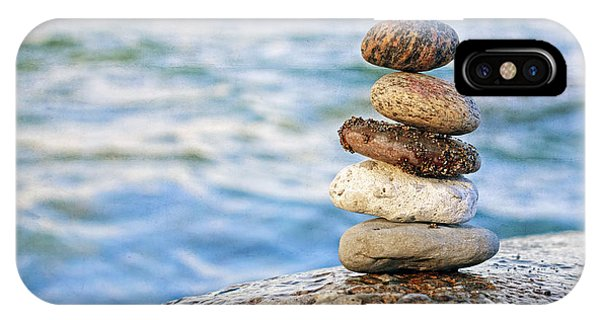 Balanced Pebbles IPhone Case
