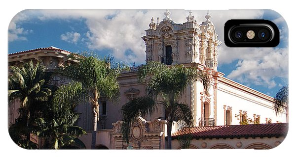 Balboa Park - Casa De Balboa IPhone Case