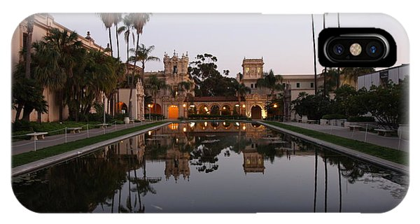 IPhone Case featuring the photograph Balboa Park Reflection Pool by Nathan Rupert