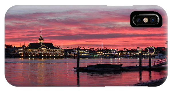 Balboa Pavilion At Dusk IPhone Case