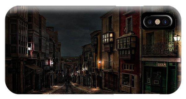 Alley iPhone Case - Balborraz by Jose C. Lobato