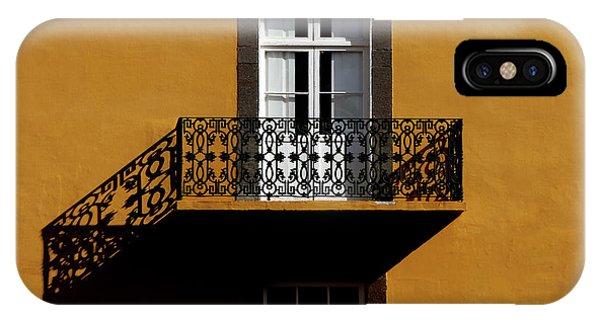 Iron iPhone Case - Balcon by Hans-wolfgang Hawerkamp