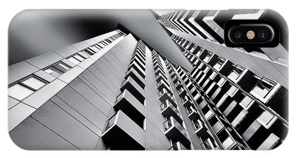 Facade iPhone Case - Balconies by Gerard Jonkman