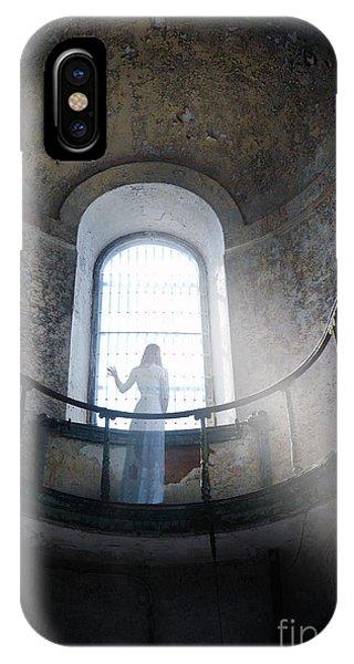 Balcony Ghost IPhone Case