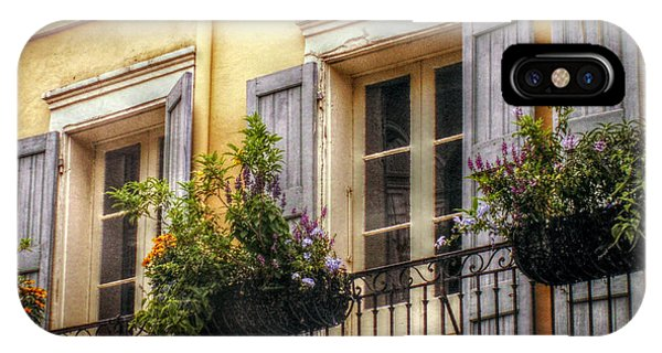 French Quarter Balcony IPhone Case