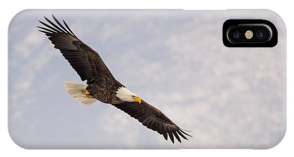 Bald Eagle In Full Extension IPhone Case