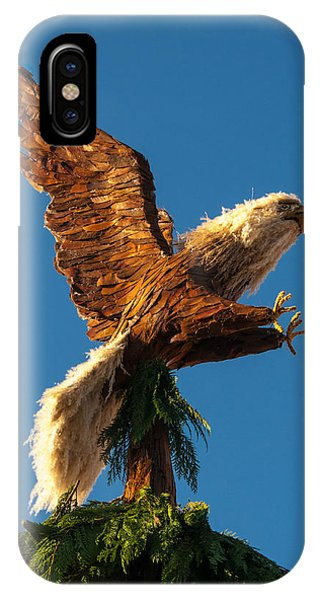 Bald Eagle  Vertical IPhone Case