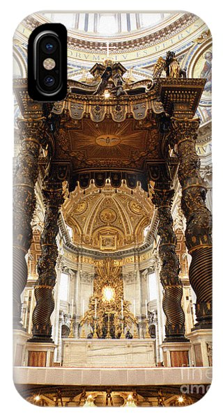 Baldacchino Di San Pietro IPhone Case