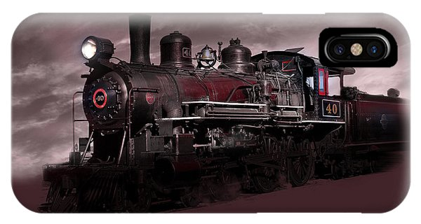 Baldwin 4-6-0 Steam Locomotive IPhone Case