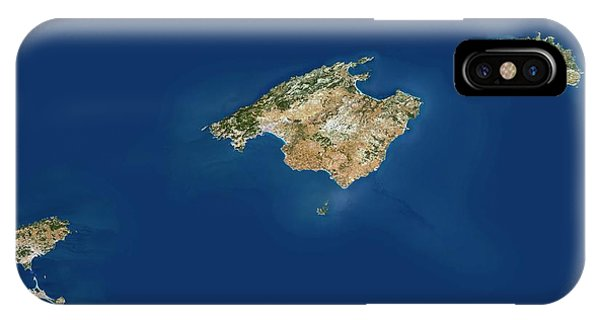 Balearic Islands Phone Case by Planetobserver/science Photo Library