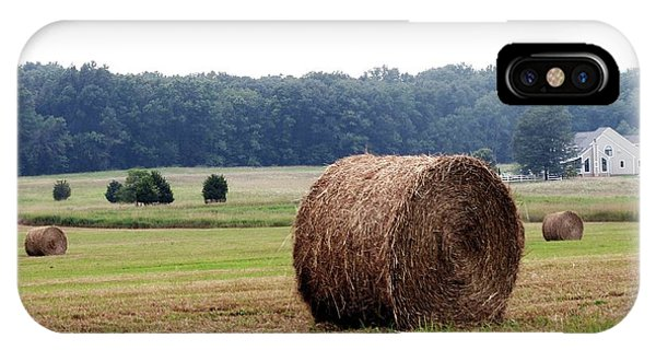 Bales In Solebury IPhone Case