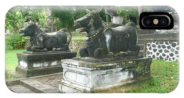 Bali Bulls Phone Case by Jack Edson Adams