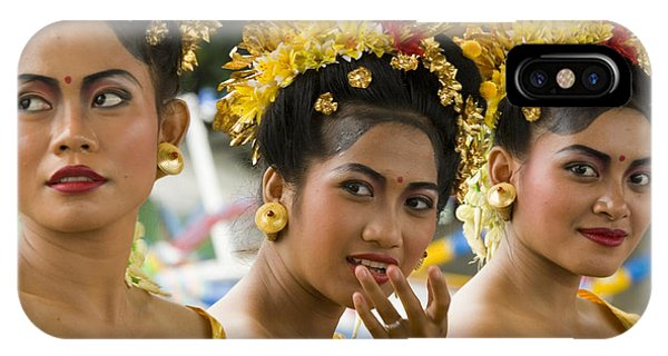 Cruise Ship iPhone Case - Balinese Dancers by David Smith