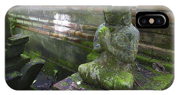 Balinese Praying Figure IPhone Case