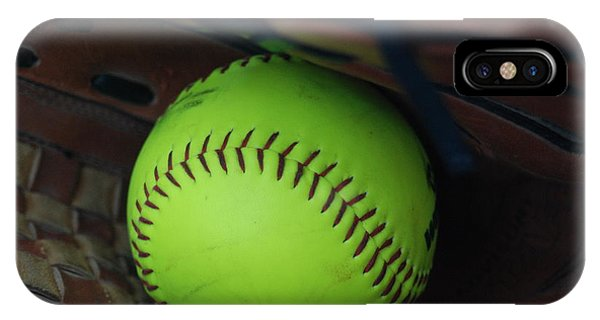 Ball And Glove IPhone Case