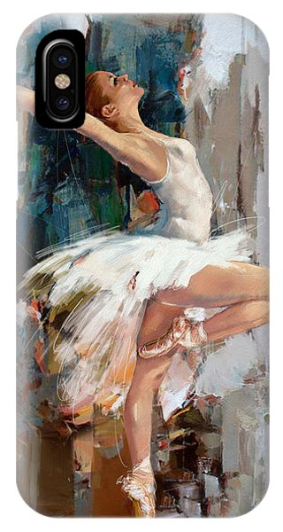 Ballerina 22 IPhone Case
