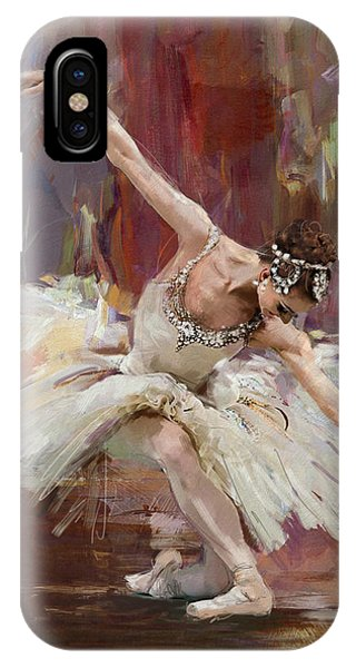 Ballerina 36 IPhone Case