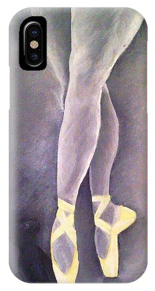 Ballerina And Kitten Phone Case by Joy Gilley