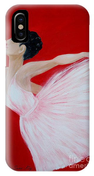 Ballerina.  Grace. Inspirations Collection IPhone Case