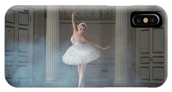 Palace iPhone X Case - Ballerina by Michal Greenboim