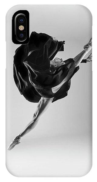 Flow iPhone Case - Ballerina by Piotr Leczkowski