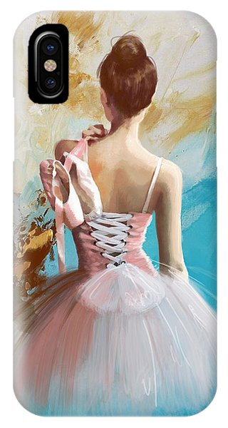 Ballerina's Back  IPhone Case