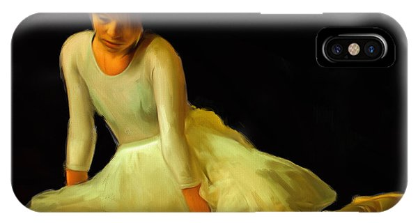Ballet Dancer IPhone Case