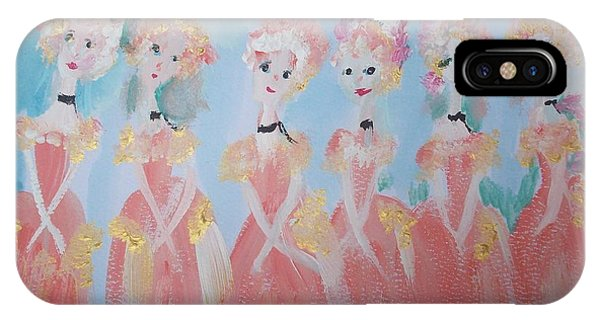 Ballet Group IPhone Case