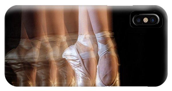 Action iPhone X Case - Ballet by Howard Ashton-jones