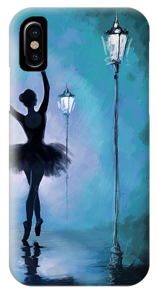 Ballet In The Night  IPhone Case