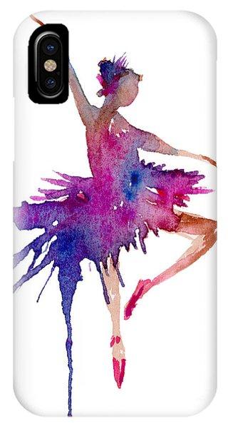 Dance iPhone Case - Ballet Retire Devant by Amy Kirkpatrick