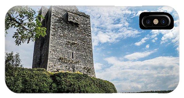 Ballinalacken Castle In Ireland's County Clare IPhone Case