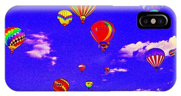 Ballon Race IPhone Case