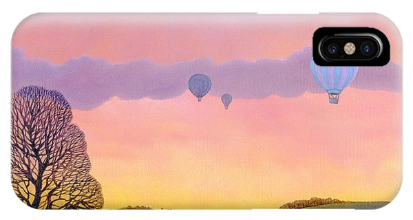Pink iPhone Case - Balloon Race by Ann Brian
