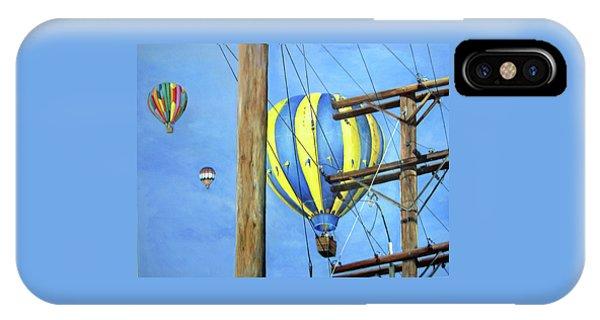 Balloon Race IPhone Case