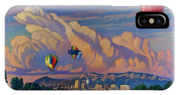 Ballooning On The Rio Grande IPhone Case