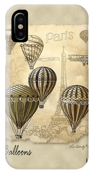 Balloons With Sepia IPhone Case